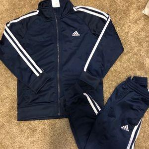 Boys 7 adidas track suit